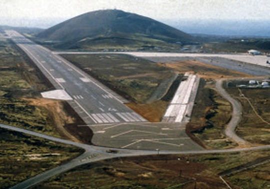 OTIE Project   Runway Repairs at the Ascension Island